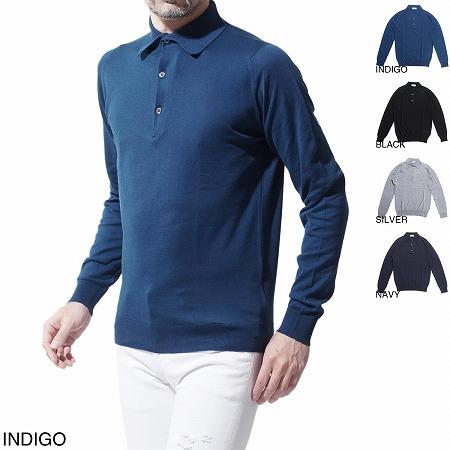 長袖のポロシャツ(メンズ)ブルーで人気のデザインはコレ!厳選3選!!